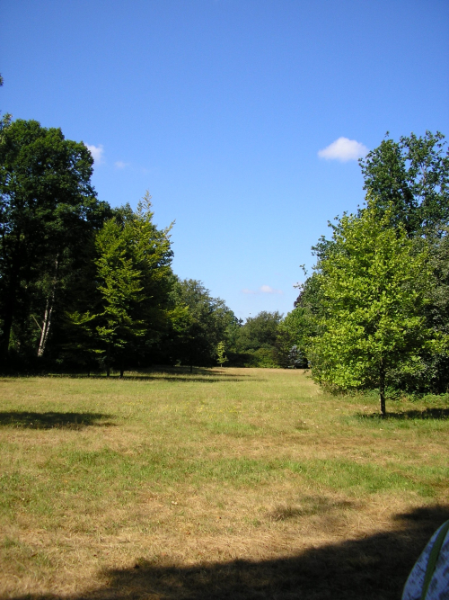 Uitzicht op Landgoed Halse Barrier